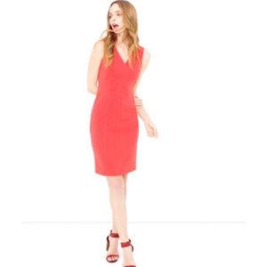 White House black market Coral sheath dress